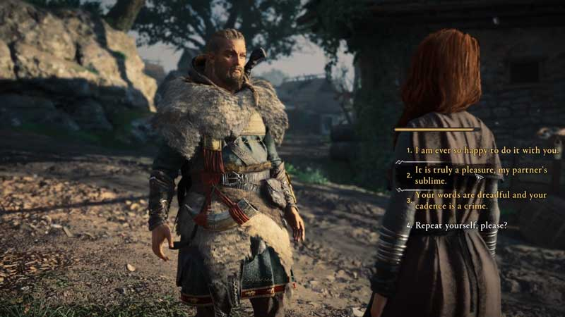 augusta the cheerful flyting challenge in assassin's creed valhlla all answers