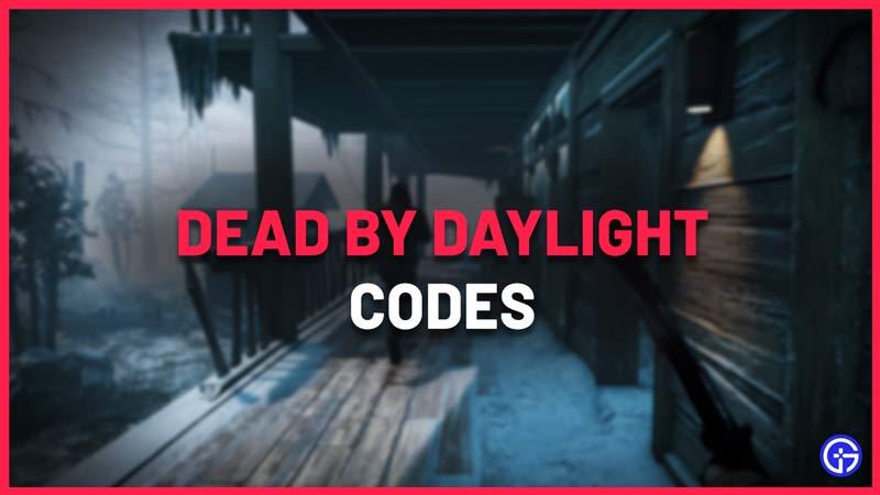dead by daylight DBD redeem codes