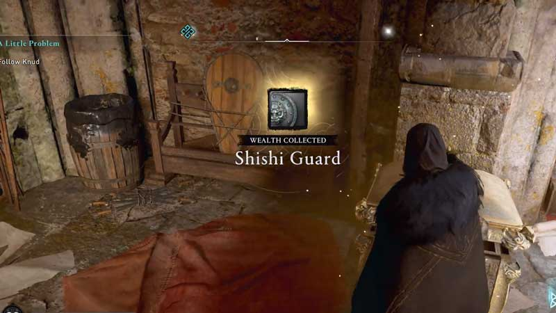 finding shishi guard armor in ac valhalla
