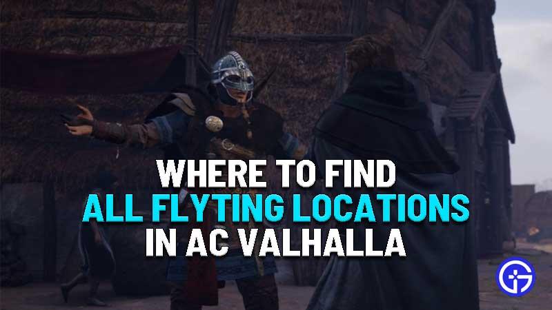 all flyting locations assassins creed valhalla