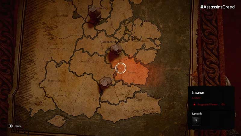 how big is Assassin's Creed Valhalla map size