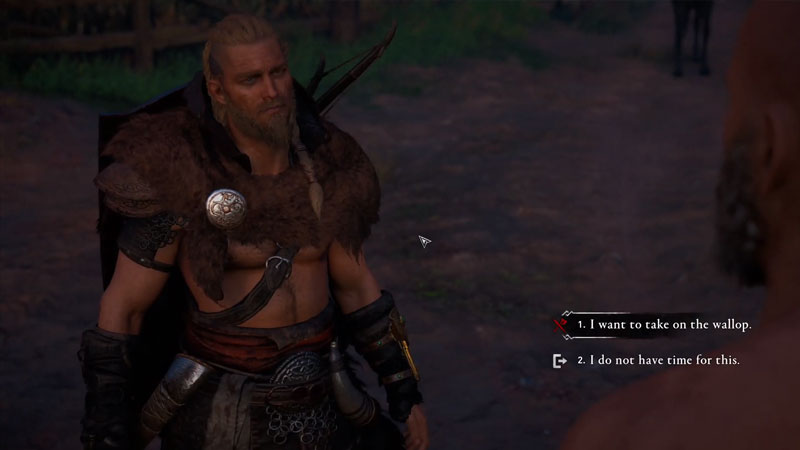how to beat the walloper in assassin's creed valhalla