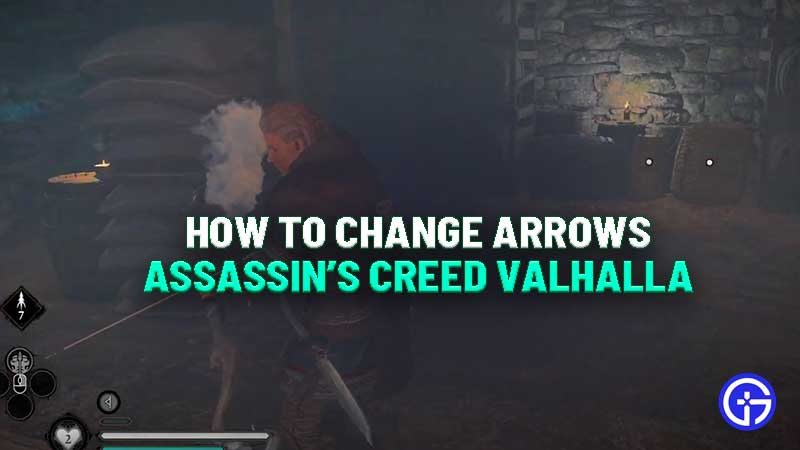how-to-change-arrows-assassins-creed-valhalla