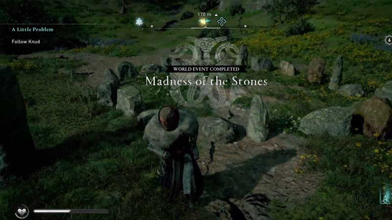 how to complete madness of the stones world event in ac valhalla