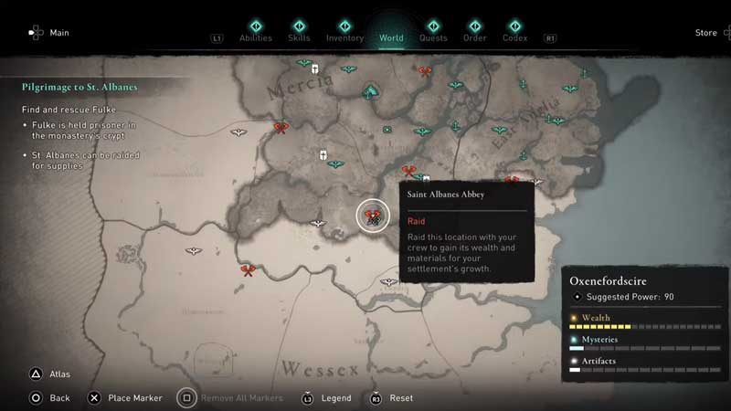 how to complete saint albanes abbey raid in ac valhalla