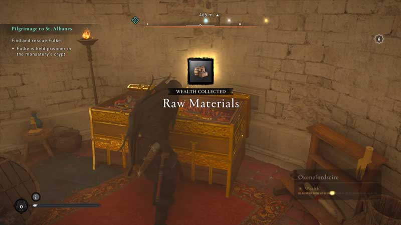 how to complete saint albanes abbey raid in assassin's creed valhalla