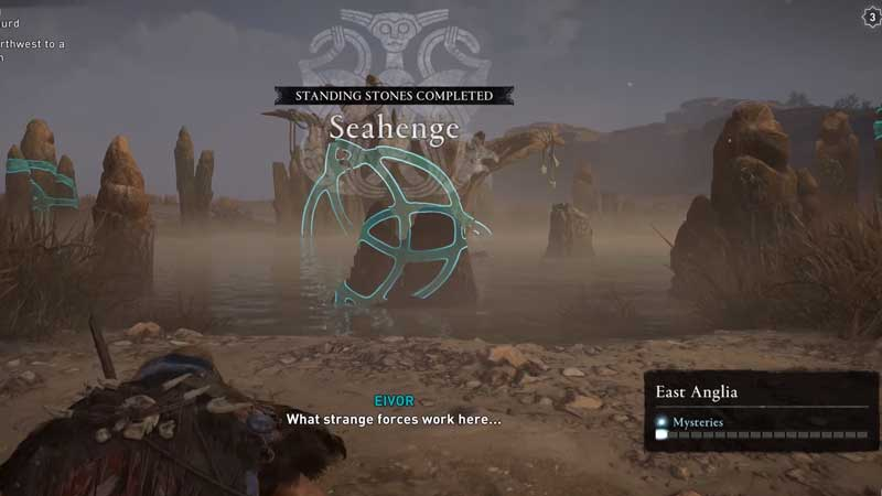 how to complete seahenge standing stone puzzle in ac valhalla