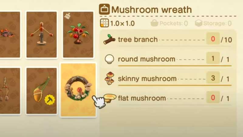how-to-craft-mushroom-wreath-acnh