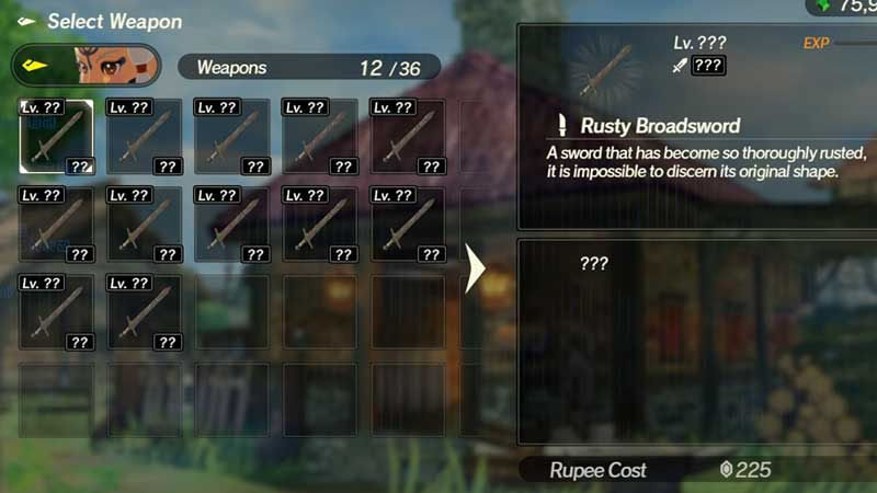 Hyrule Warriors Age Of Calamity Rusty Weapons How To Use