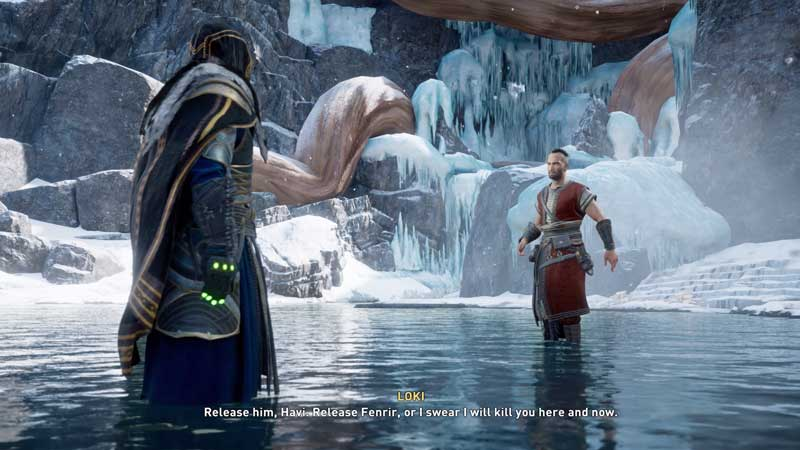 how to defeat loki in assassin's creed valhalla