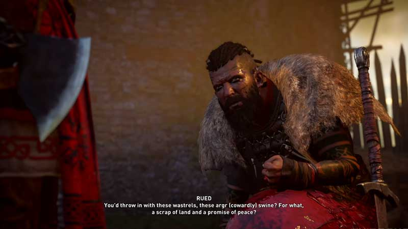 how to defeat rued in assassin's creed valhalla