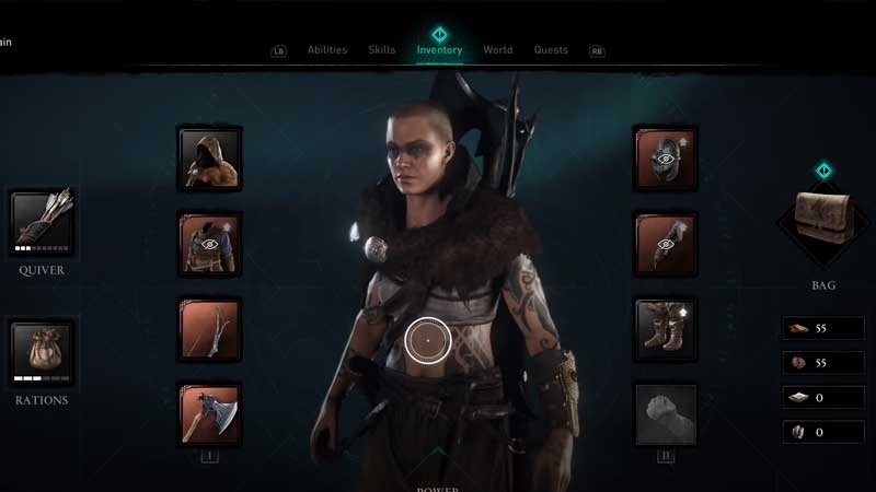 how to dismantle or sell weapons and gears in assassin's creed valhalla