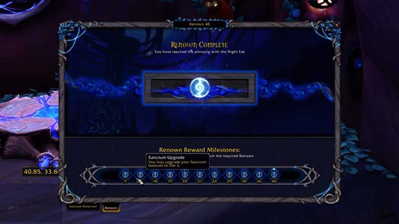 how to earn renown in wow shadowlands