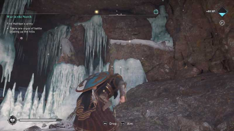 how to enter the wiccan's cave in assassin's creed valhalla
