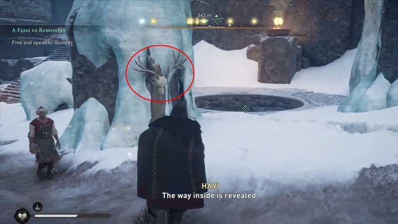 how to find and speak to gunlodr in assassin's creed valhalla