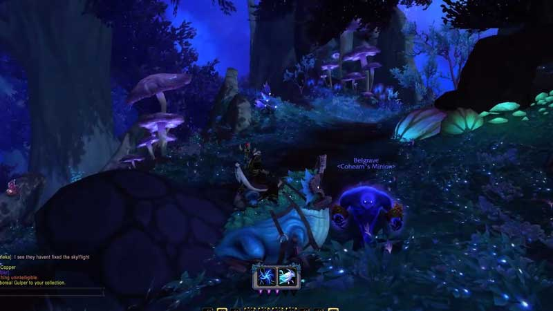 how to get Arboreal Gulper mount in world of warcraft shadowlands