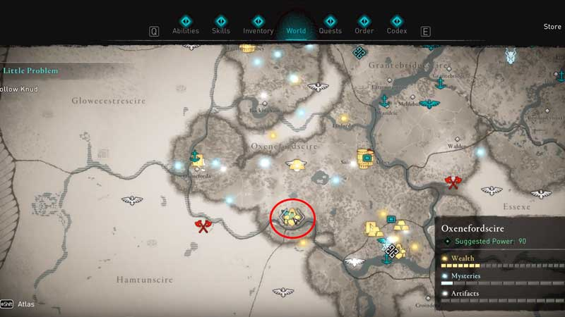 how to get shishi armor set in assassin's creed valhalla