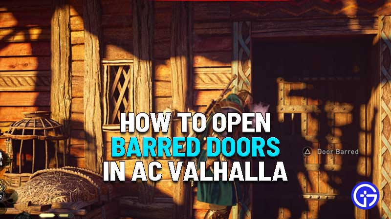 how to open barred doors in assassins creed valhalla
