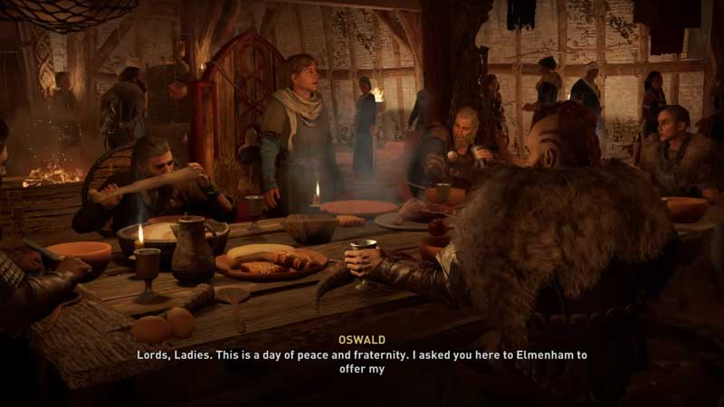 how to start a feast in ac valhalla