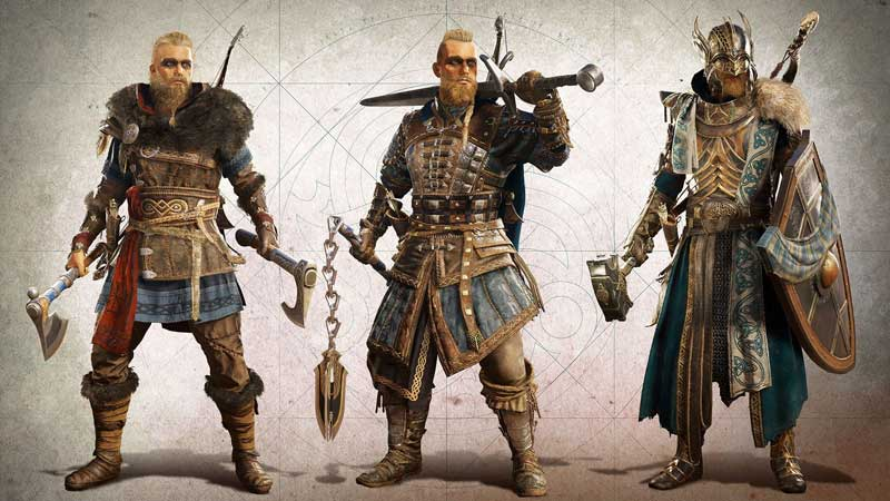 how to upgrade weapons and armor equipment in assassin's creed valhalla