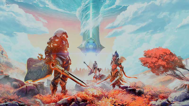 invite friends to play multiplayer in godfall