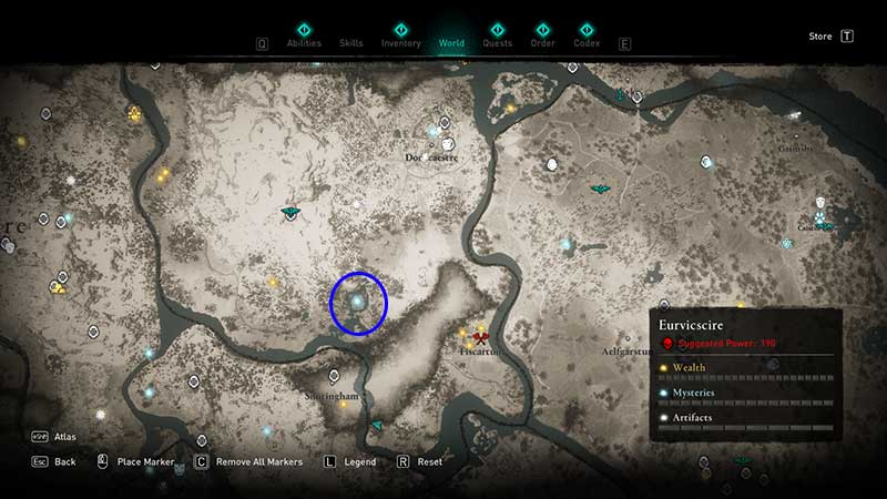 legendary animal the blood swine location