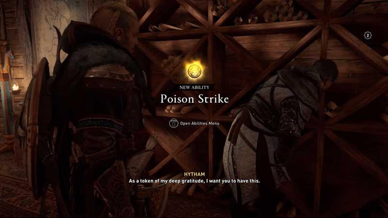 poison strike ability