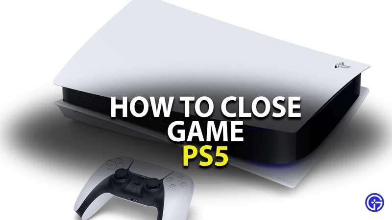 PS5 Close Game