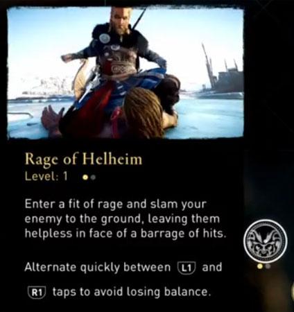 Rage of Helheim Ability Valhalla