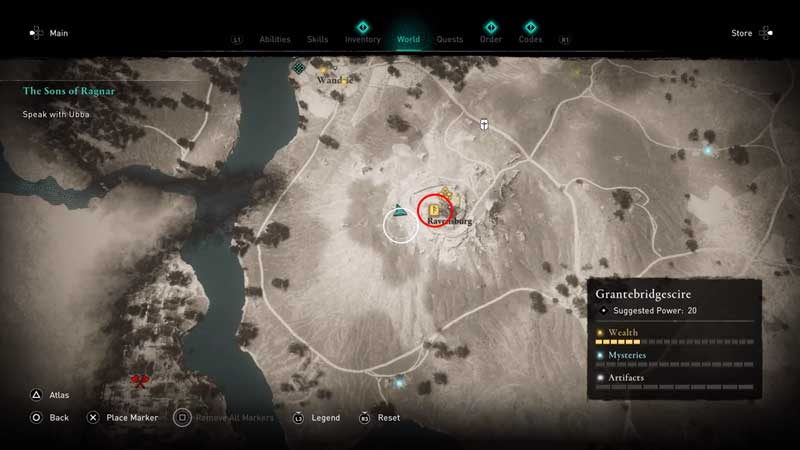 rush and bash ability book of knowledge location