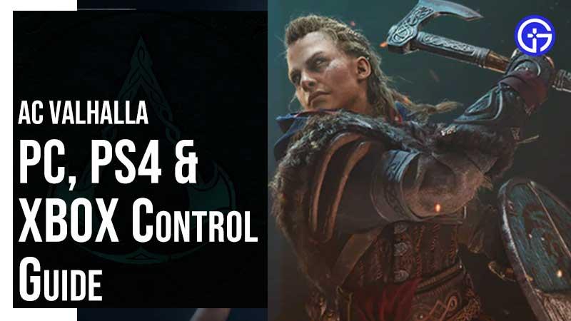 Valhalla Controls Guide