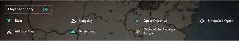 Valhalla Map Marker