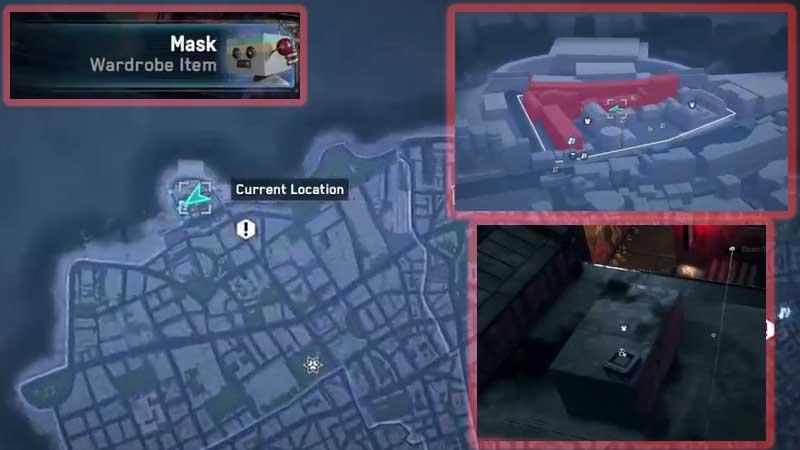 Watch Dogs Legion Cardboard Mask Location