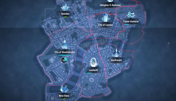 Watch Dogs Legion Full Map Size Revealed