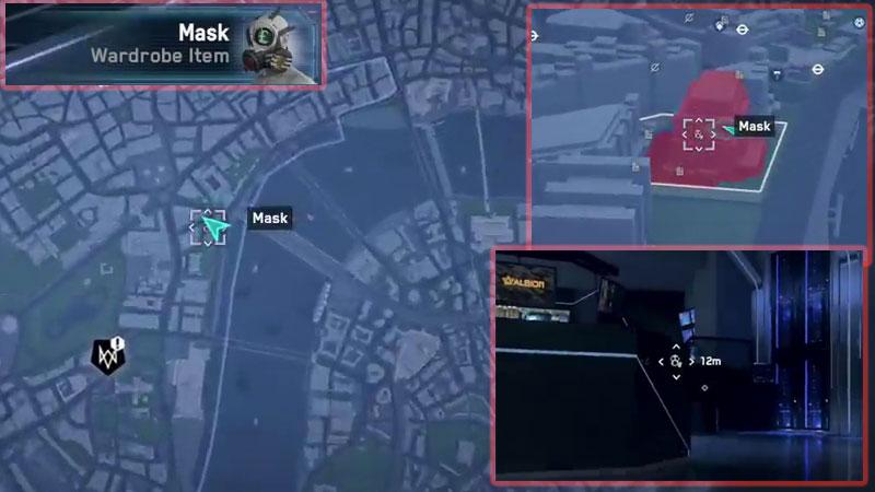 Watch Dogs Legion Mask Location - New Scotland Yard