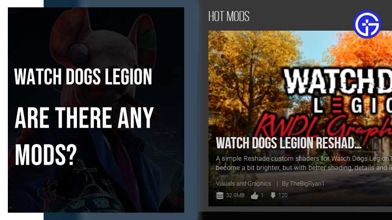 Watch Dogs Legion Mods Download