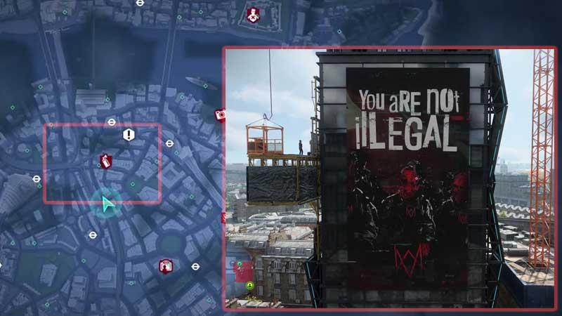 Watch Dogs Legion Southwark Digital Deface