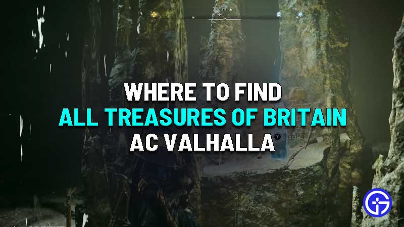 where to find all treasures of britain assassins creed valhalla