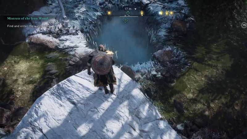 where to find and enter the well in ac valhalla
