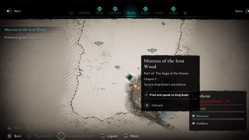 where to find and enter the well in assassin's creed valhalla
