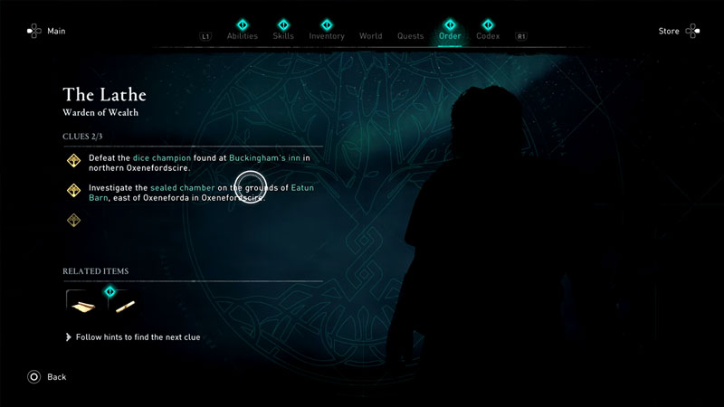where to find the lathe in assassin's creed valhalla