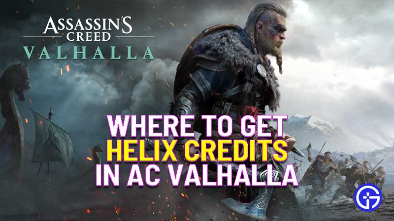 where to get helix credits in assassin's creed valhalla