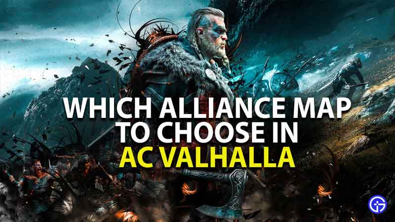 which alliance map to choose in assassin's creed valhalla
