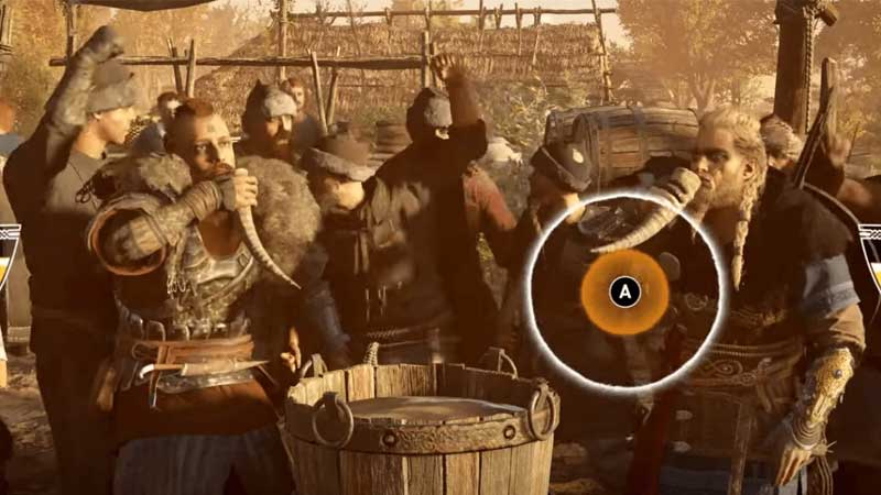 how to win drinking game in assassins creed valhalla