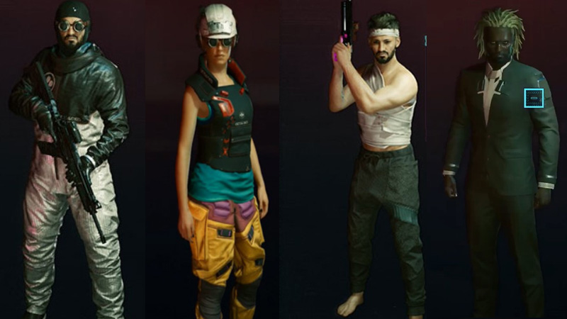 Cyberpunk 2077 All Special Outfits