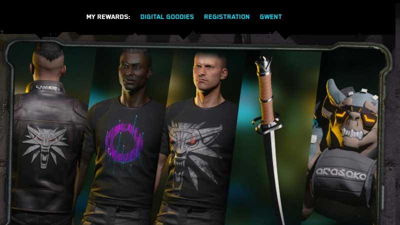 Cyberpunk 2077 Claim Free Rewards