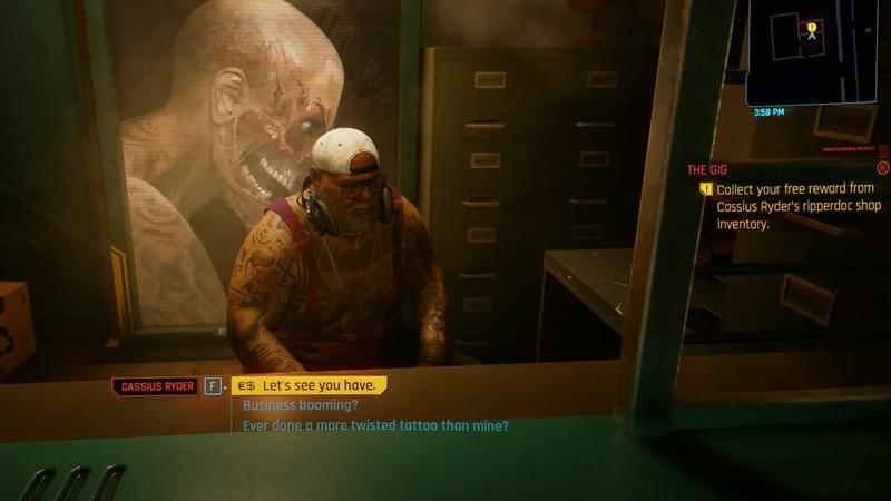 Cyberpunk 2077 The Gig Guide