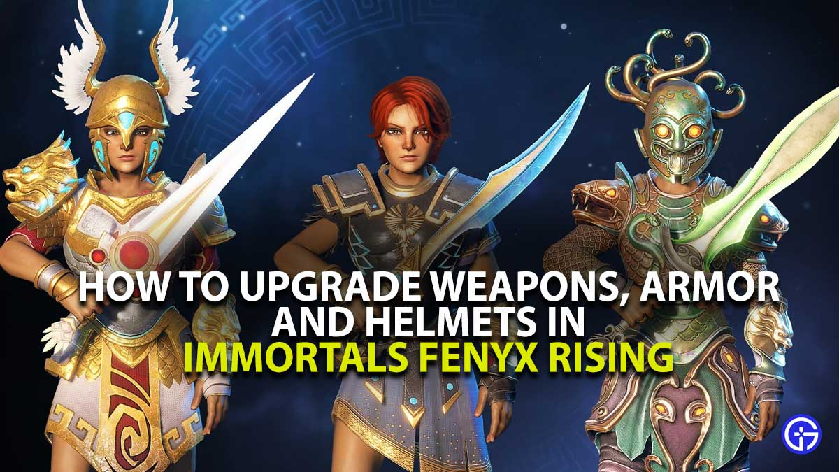 Immortals Fenyx Rising Weapon Upgrade Guide