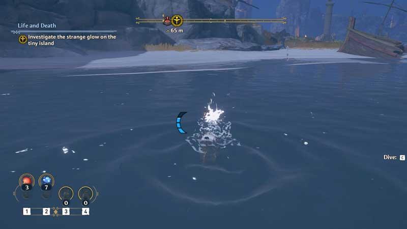 Immortals Fenyx Rising Swimming Guide