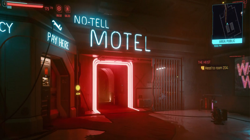 No Tell Motel Location CP2077 Guide